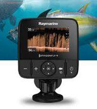 Raymarine Dagonfly fishfinder 4DVS Chirp Downvision sonar
