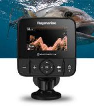 Raymarine Dragonfly 4 pro fishfinder chirp sonar Downvision GPS