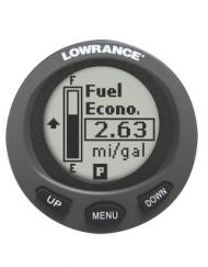 Lowrance LMF-200 inbouw klok brandstof meter