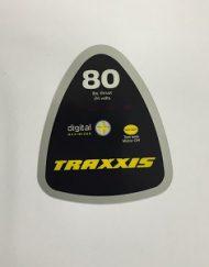 Minn Kota Decal Cover Traxxis 80 stikker kap