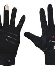 Nathan Tec Glove m-LED S, zwart