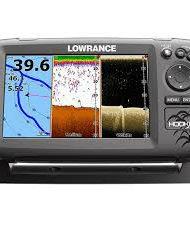 Lowrance Hook 7 Chirp fishfinder GPS kaartplotter