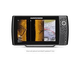 Humminbird Helix 10 Chirp MEGA SI plus GPS G3N Side Imaging