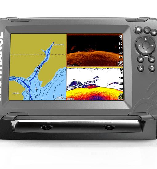 Lowrance Hook2 7 Splitshot fishfinder GPS kaartplotter