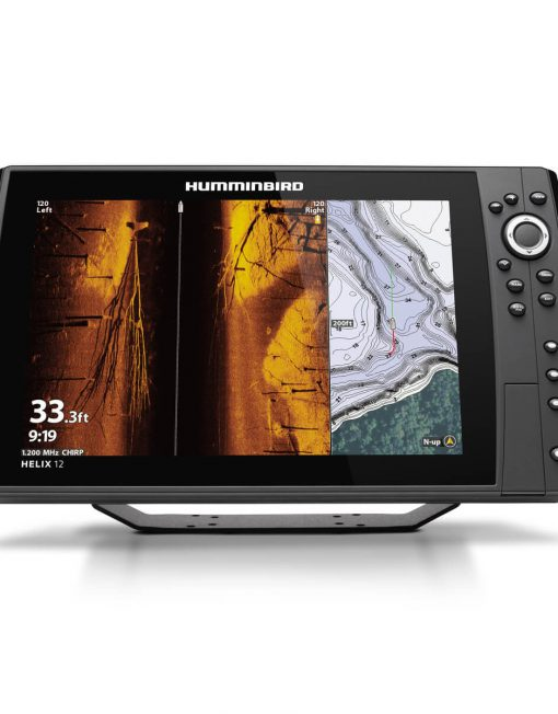 Humminbird Helix 12 Chirp MEGA SI plus GPS G3N Side Imaging