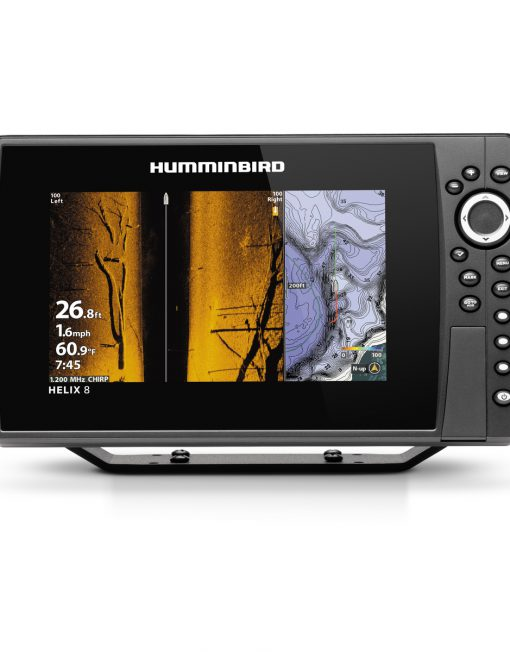 Humminbird Helix 8 Chirp MEGA SI plus GPS G3N Side Imaging